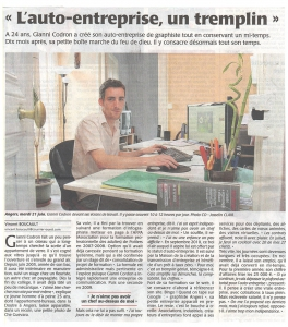 article presse infographiste graphiste angers