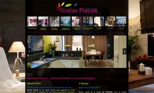 création site internet artisan peintre angers