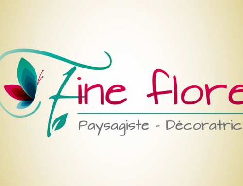 Création de logo, carte de visite et bannière paysagiste décoratrice Angers