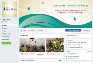 création bannière page facebook