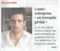 article presse graphiste angers