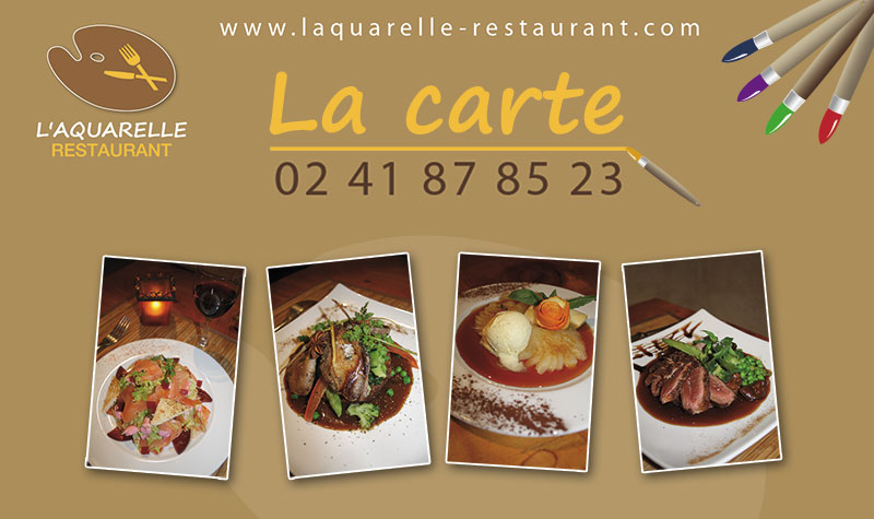 Creation Logo Carte De Visite Et Site Internet Restaurant Angers