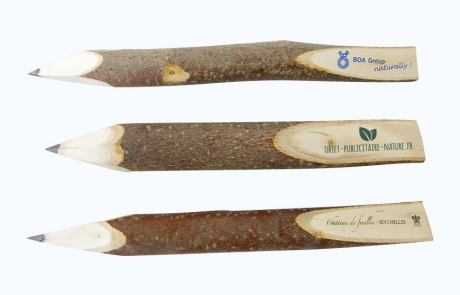 crayons bois publicitaire