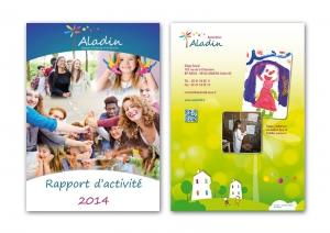 création couverture rapport d'activite association