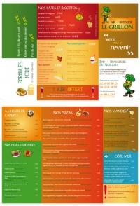 création carte menu restaurant angers