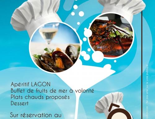 Création et impression de flyers pour un hôtel restaurant