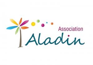 création logo angers association aladin