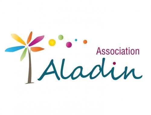 Création logo, carte de visite, plaquette pour association à Angers