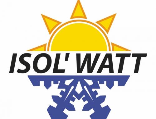 Logo, carte, panneau et site Internet entreprise isolation Angers