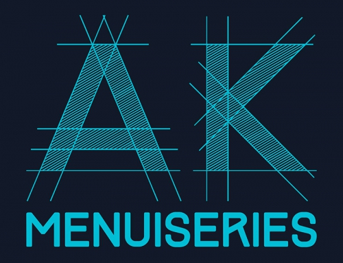 Création du logotype AK Menuiseries Angers