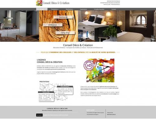 Création d'un site web WordPress pour une entreprise de décoration à Angers
