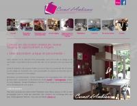 création site internet décoratrice angers