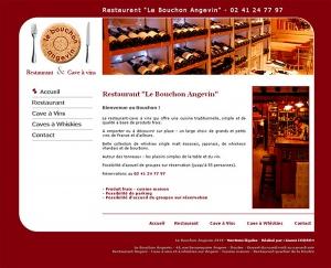 création site restaurant angers