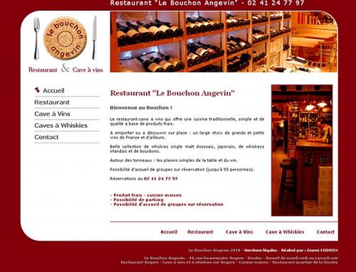 Création complète communication restaurant cave à vins Angers
