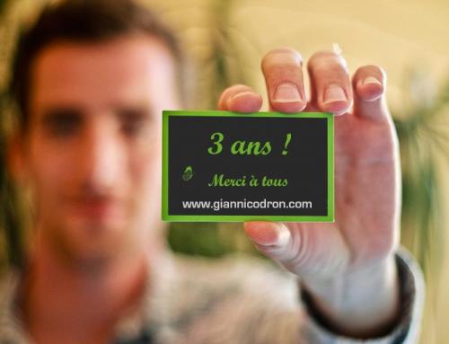 Gianni Codron Publicité fête ses 3 ans