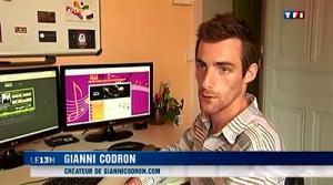 interview graphiste angers vidéo tf1