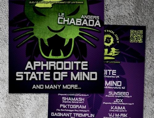 Création d'un flyer pour un évènement au Chabada Angers
