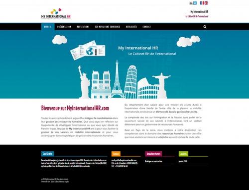 Création d'un site Internet pour un cabinet RH à Angers