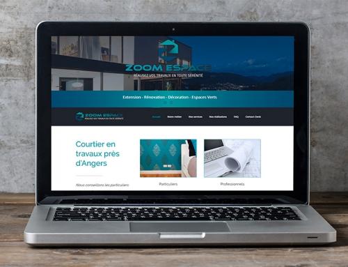Création site Internet courtier en travaux Angers
