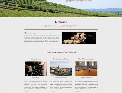 Création d'un site Internet multilingue pour un négociant en vins près d'Angers