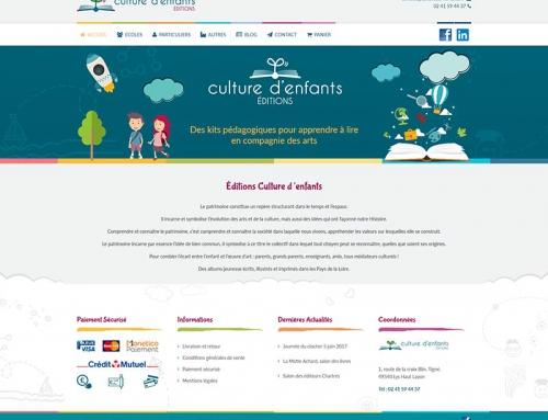 Création d'une boutique en ligne pour une maison d'édition