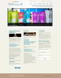 création site internet salon coiffure angers