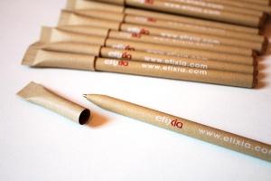 stylo publicitaire personnalisé carton recyclé