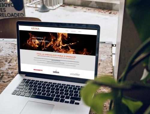 Création du site Internet de la société FTCS à Angers