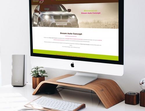 Création du site Internet de vente de véhicules Angers