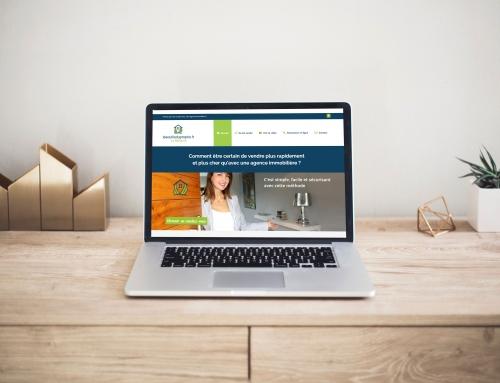 Création d'un site Internet immobilier à Angers