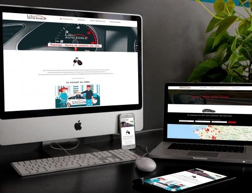 Création site Internet auto école nationale