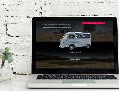Création du site Internet restaurant La Ferme Angers