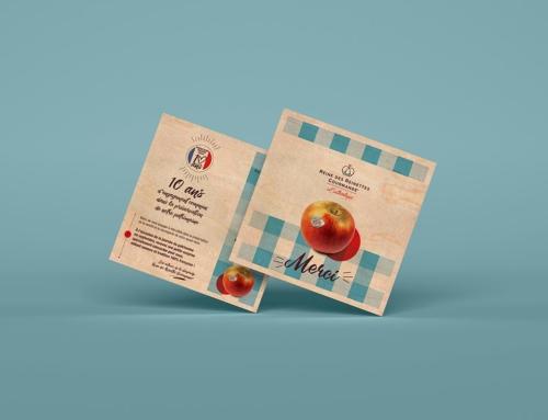 Impression de cartes en bois format 145 x 145 mm