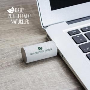 Clé USB en béton personnalisée ronde