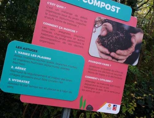 Impression et pose de panneaux Jardins à Angers