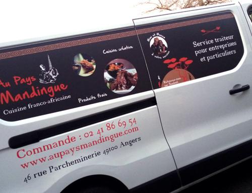 Décoration adhésifs camion à Angers – Signalétique