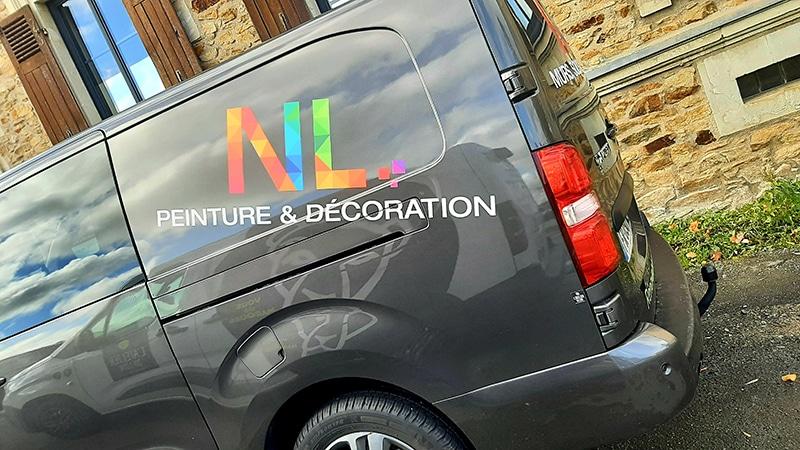Décoration Peugeot Expert NL Peinture Le Lion d'Angers