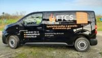 Habillage adhésif camion Expert Angers