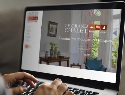 Création site Internet Angers – Le Grand Chalet