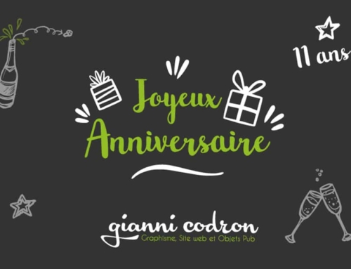 11 ème anniversaire de l'entreprise !