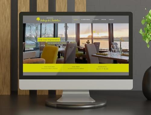 Création site Internet restaurant Auberge Chanteclair Bouchemaine